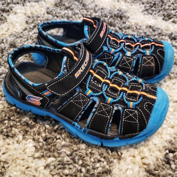 skechers boys sandals